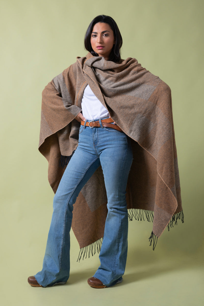 Recycled Cotton Cape The Ugly