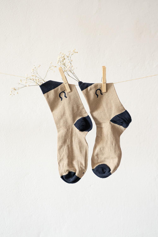 Recycled cotton socks Nello
