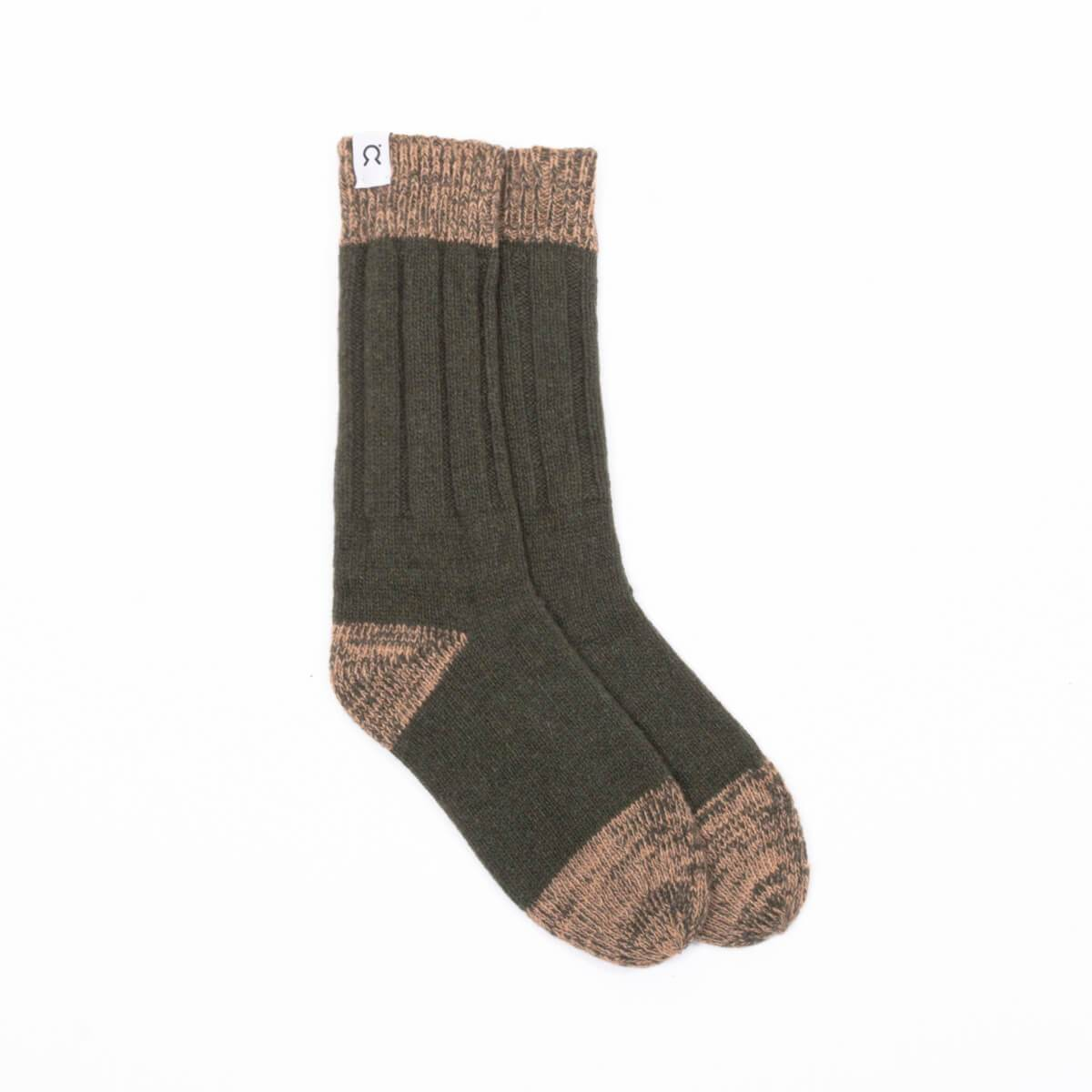 Recycled cashmere socks Ettore