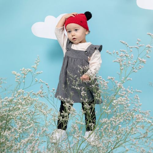 Baby Recycled Cashmere Beanie Cosimo