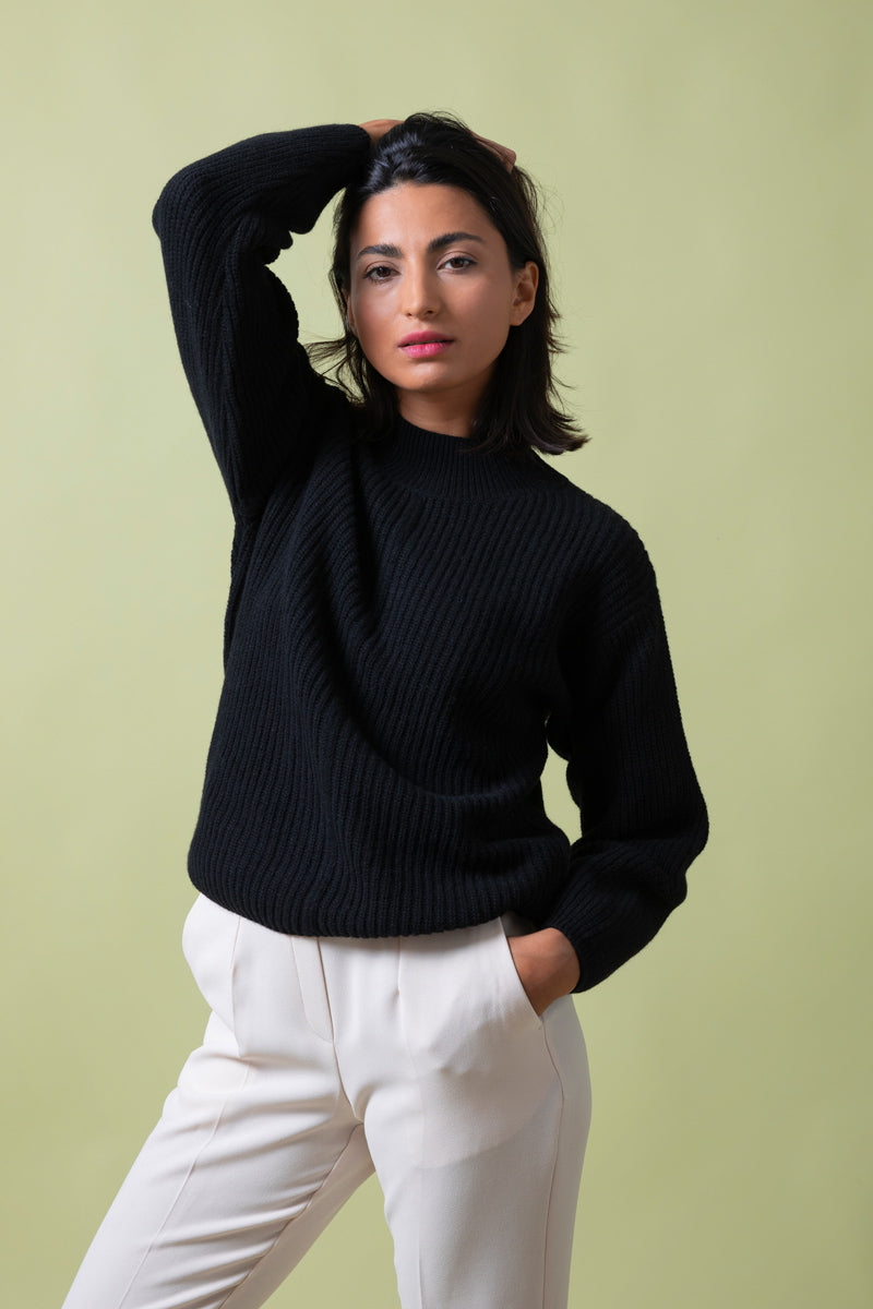 Recycled Cashmere Sweater Woman Alda