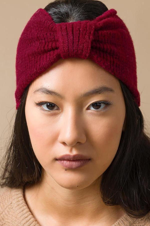 Recycled Cashmere Headband Woman Amelia