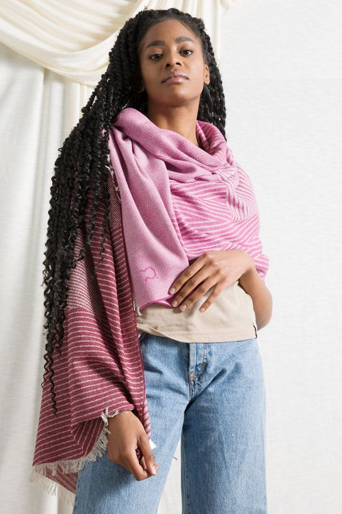 Recycled Cotton Shawl Anni