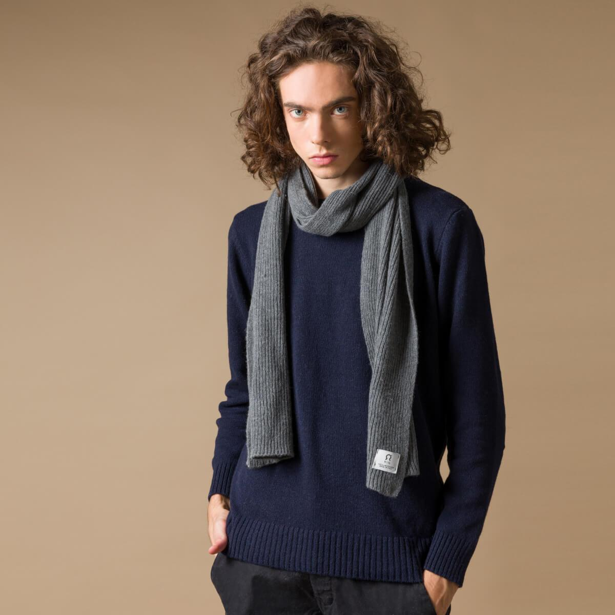 Recycled Cashmere Scarf Federico