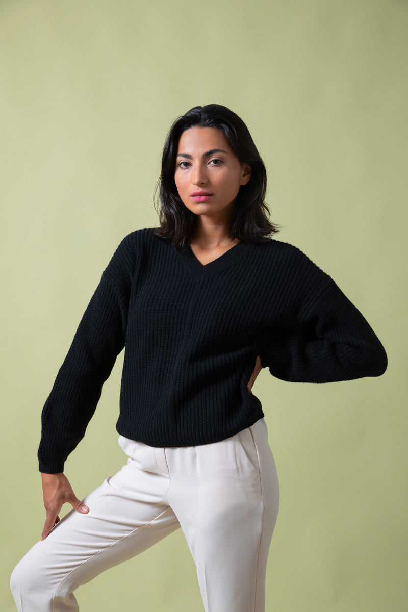 Recycled Cashmere Sweater Woman Luisa