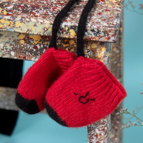 Recycled Cashmere mittens Biagio