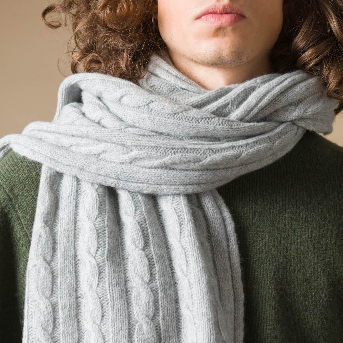 Recycled Cashmere Scarf Sibilla