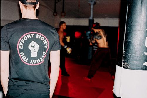 EFFORT WONT BETRAY YOU t-shirt