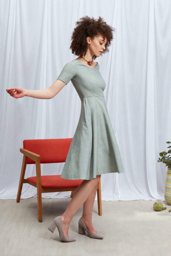 Judith Dress Light Green