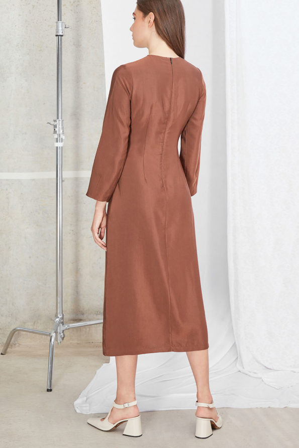 SABINNA Meghan Dress Mocca