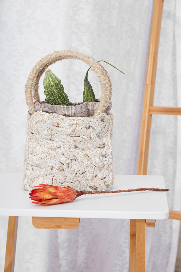 Handmade Ruby Bag