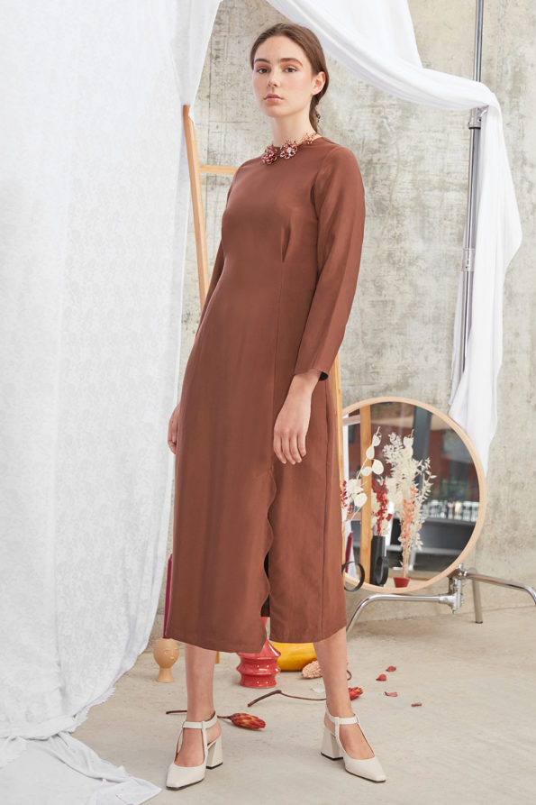 Meghan Dress Mocca