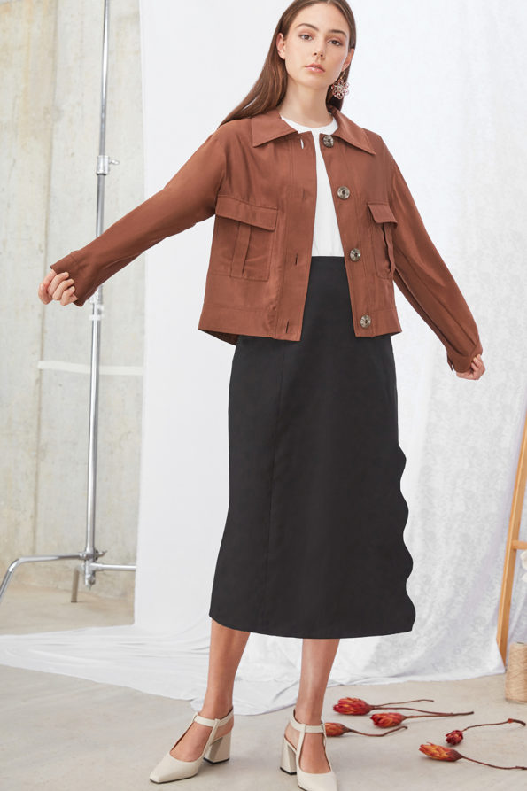 SABINNA Meghan Skirt Black