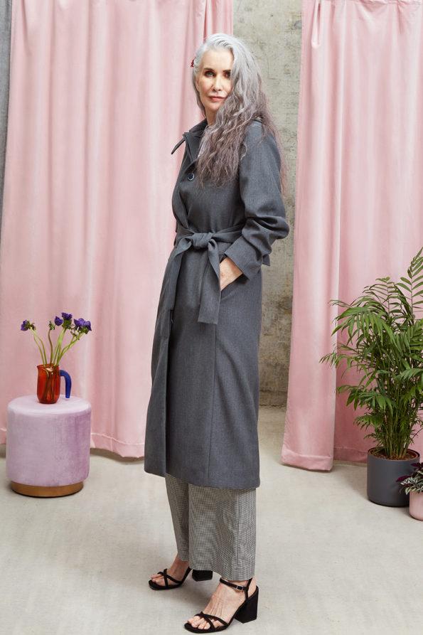 Violet Trench Coat