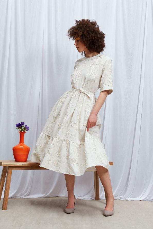 Dress Cream White