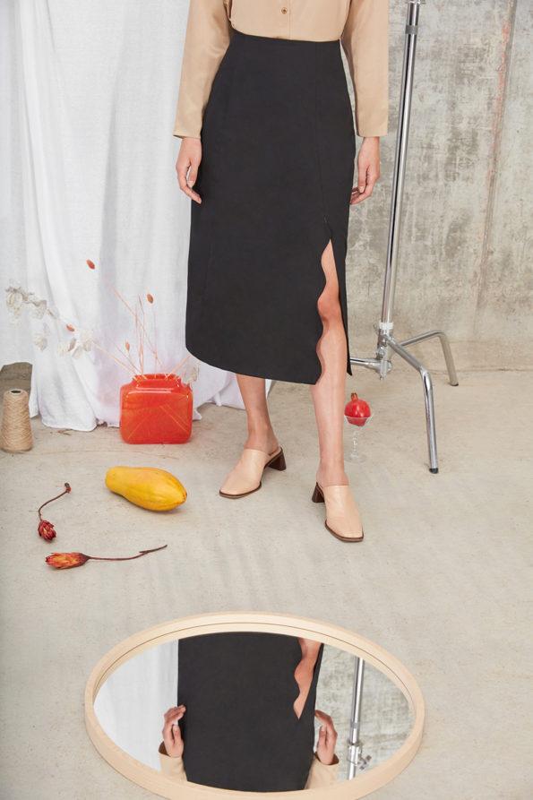 Meghan Skirt Black