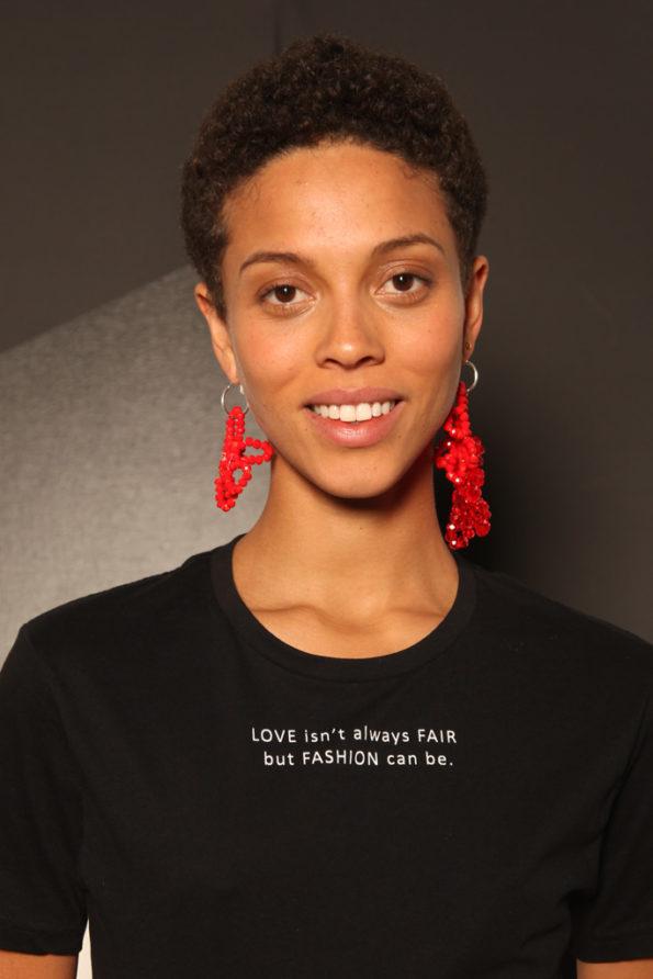 Love Fair Fashion T-shirt Black