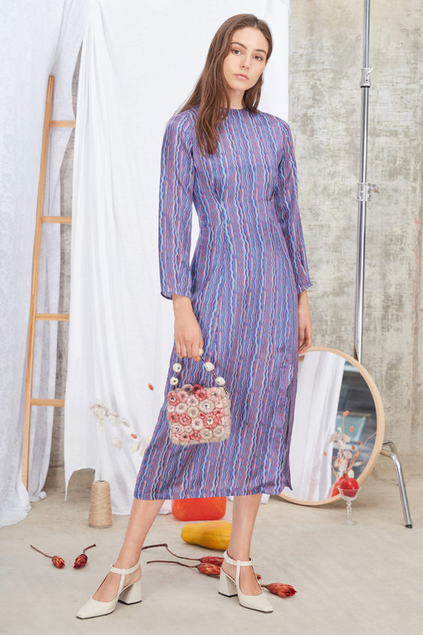 Meghan Dress Blue