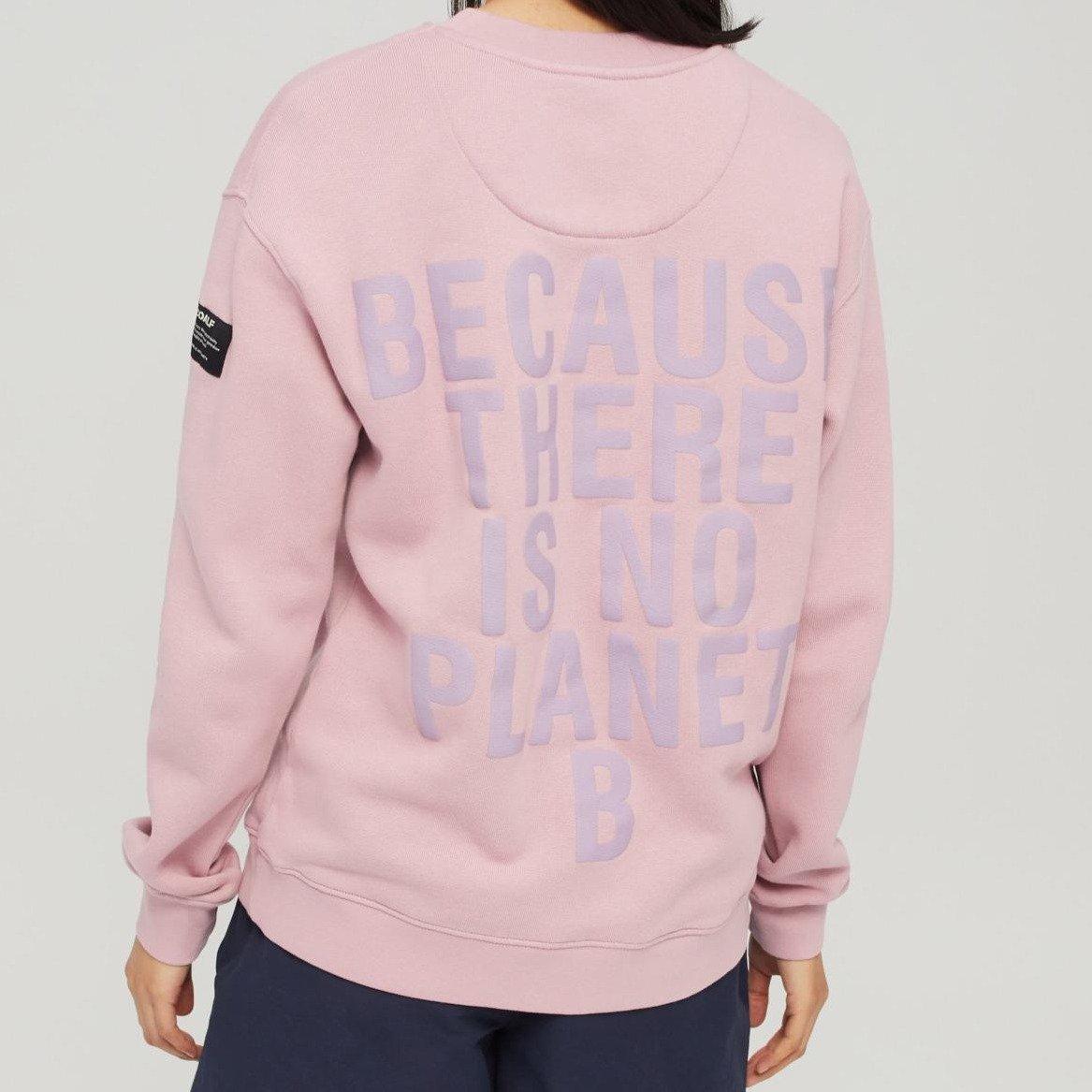 Because Sweatshirt Peppercorn