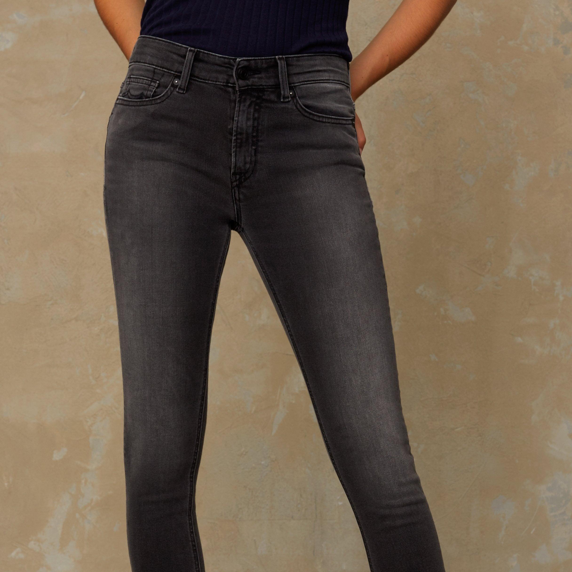 Kings of Indigo Juno High Slim Fit Jeans Grey Used