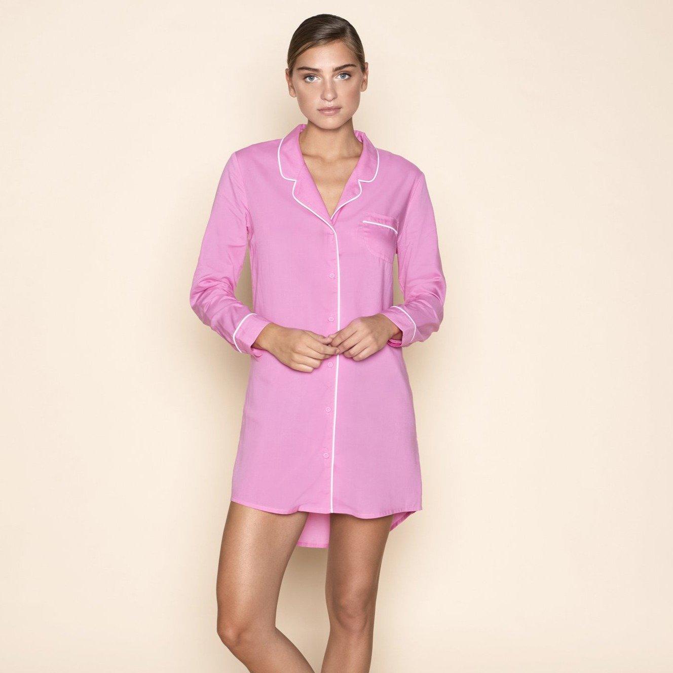 Dress Blouse Bombshell Pink