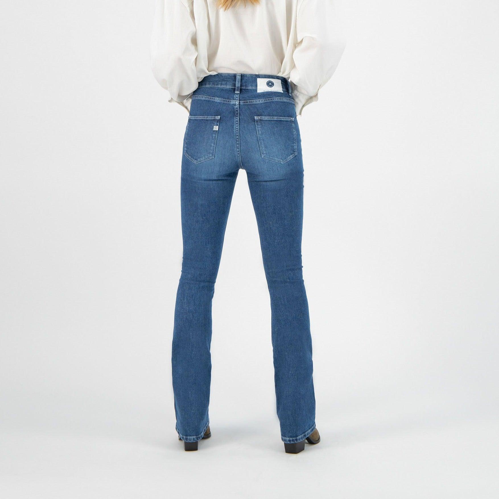 Mud Jeans Flared Hazen Authentic Indigo