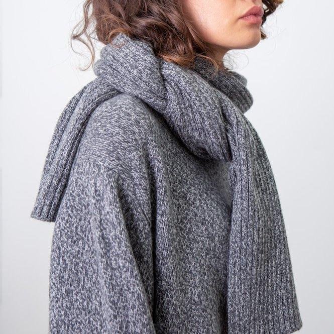 Recycled Cashmere Scarf