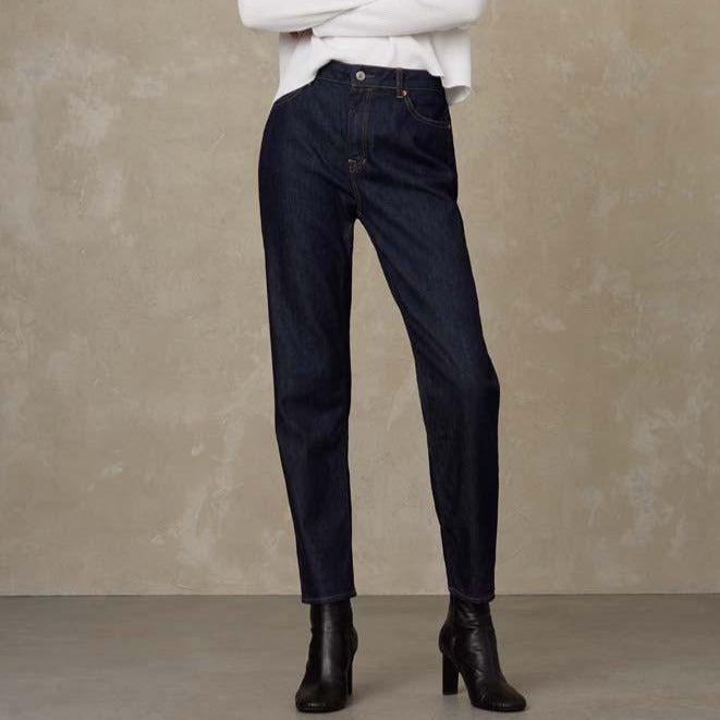 Caroline High Waist Jeans Bio Stretch Rinse