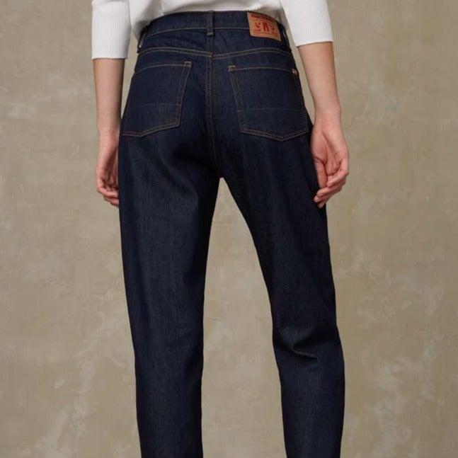 Kings of Indigo Caroline High Waist Jeans Bio Stretch Rinse