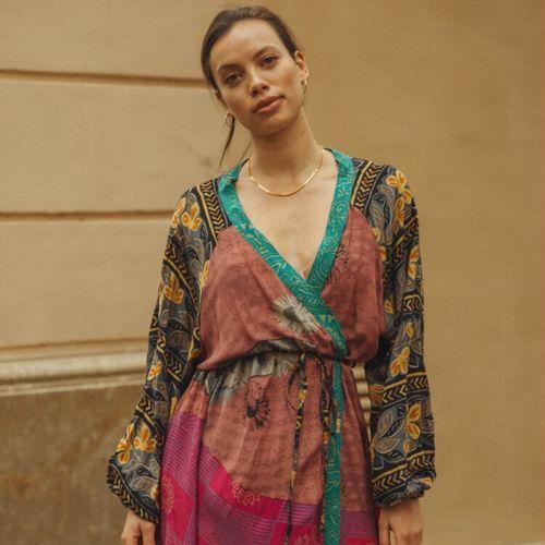Long Kimono Tropicana