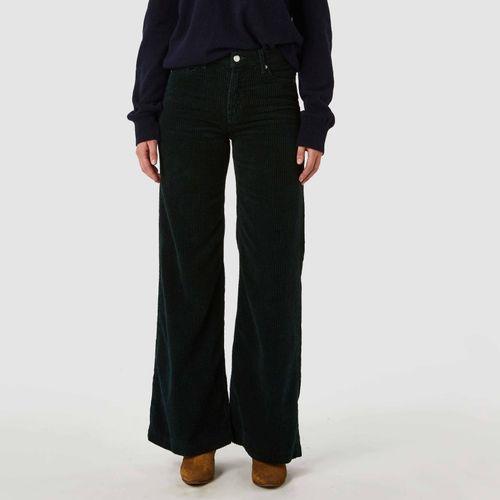 Jane Trousers Dark Green Gorduroy