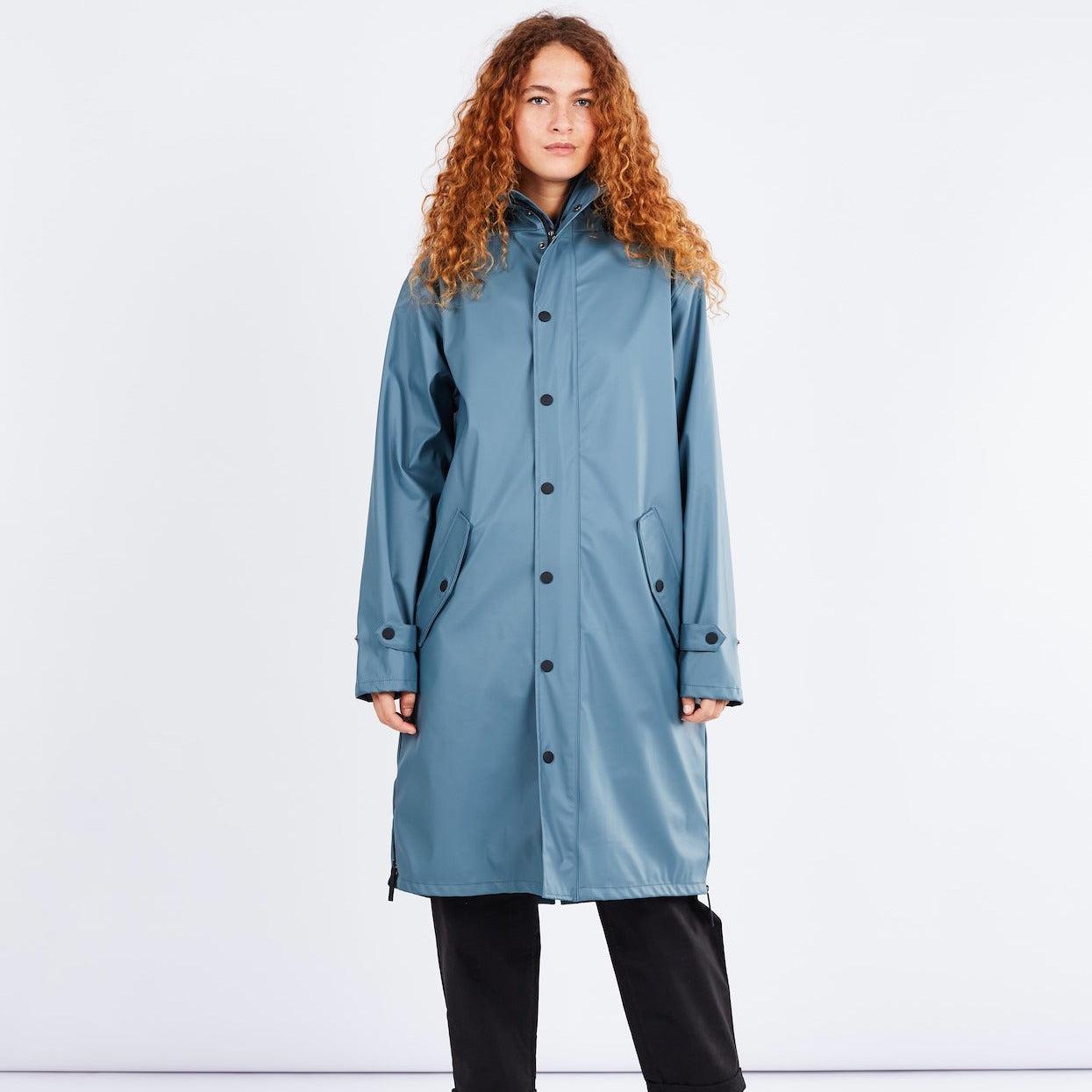 Original Raincoat Blue Grey