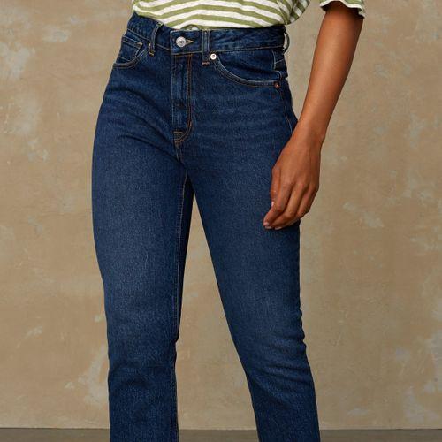Kings of Indigo Yama High Rise Slim Fit Jeans Eco Xavier Blue Used
