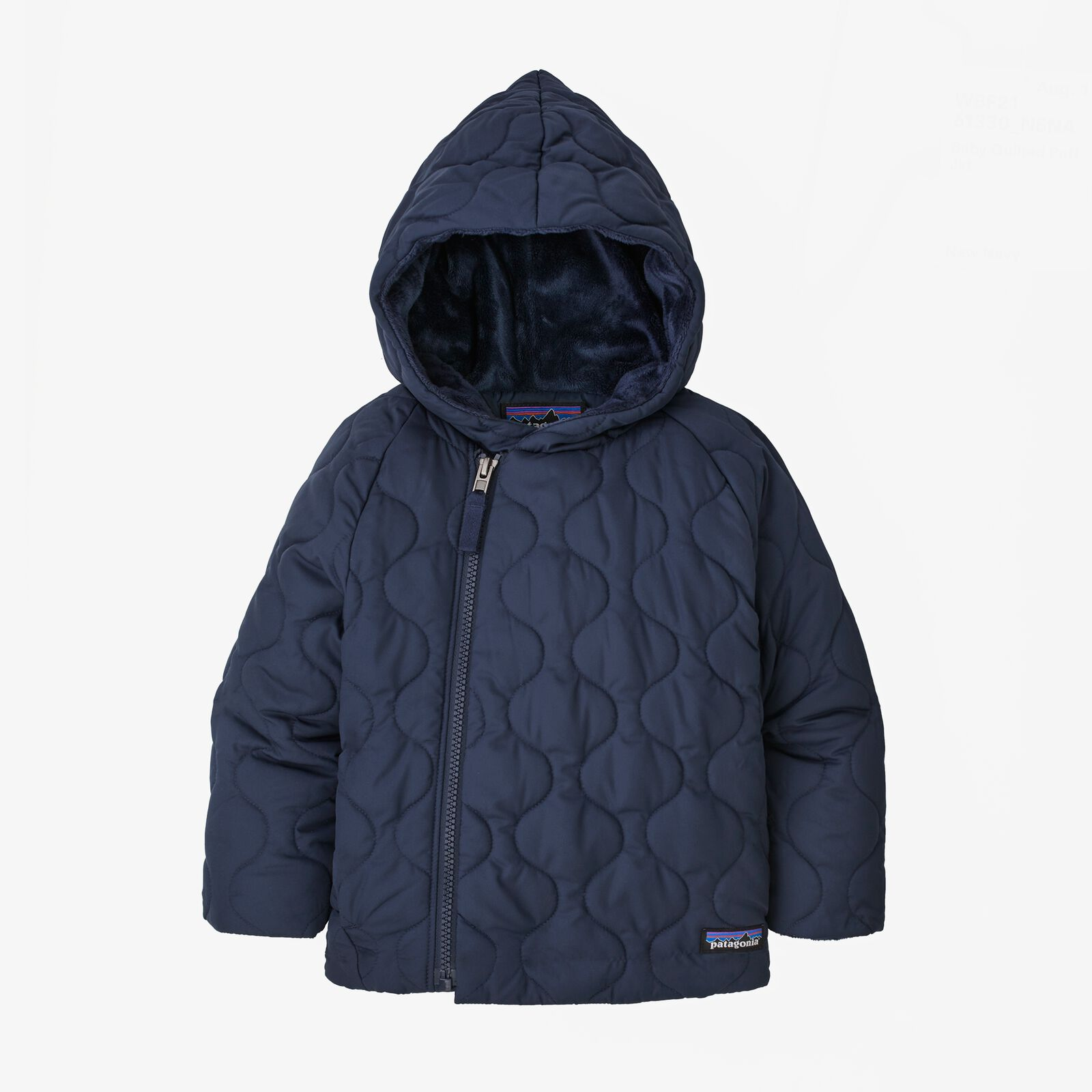 Baby Quilted Puff Jacket New Navy