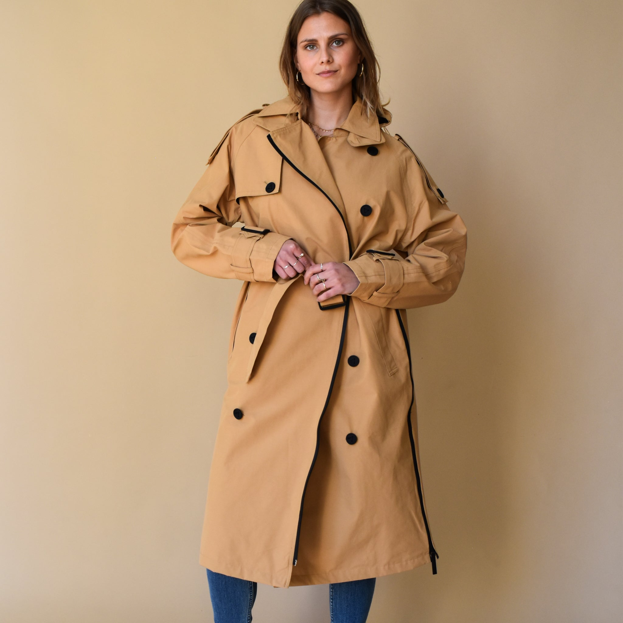 Trench Coat Iced Coffee