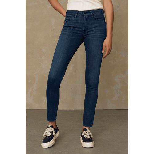 Kings of Indigo Juno High Slim Fit Jeans Gorbi Green Worn