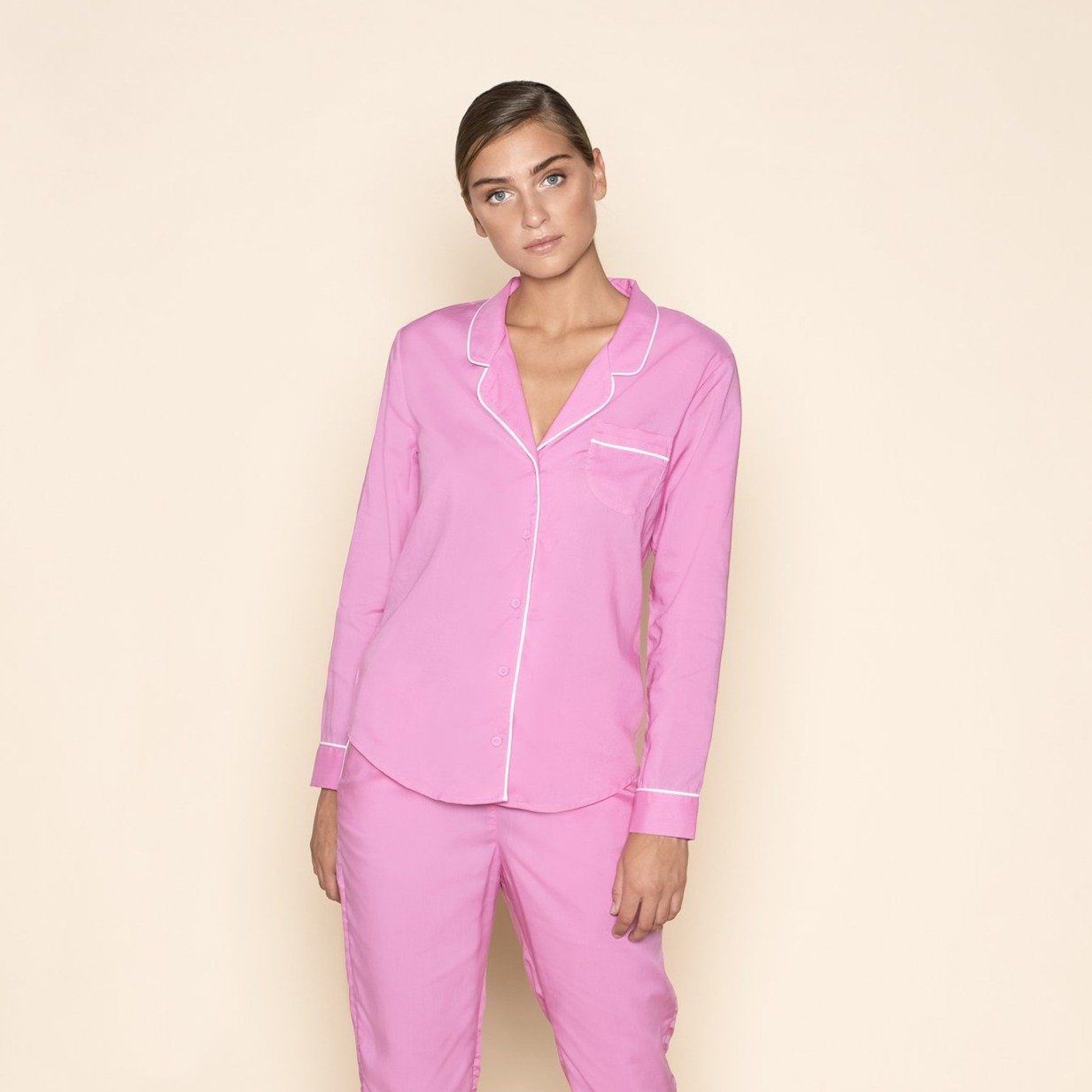Pyjama Blouse Bombshell Pink