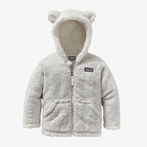 Baby Furry Friends Hoody Birch White