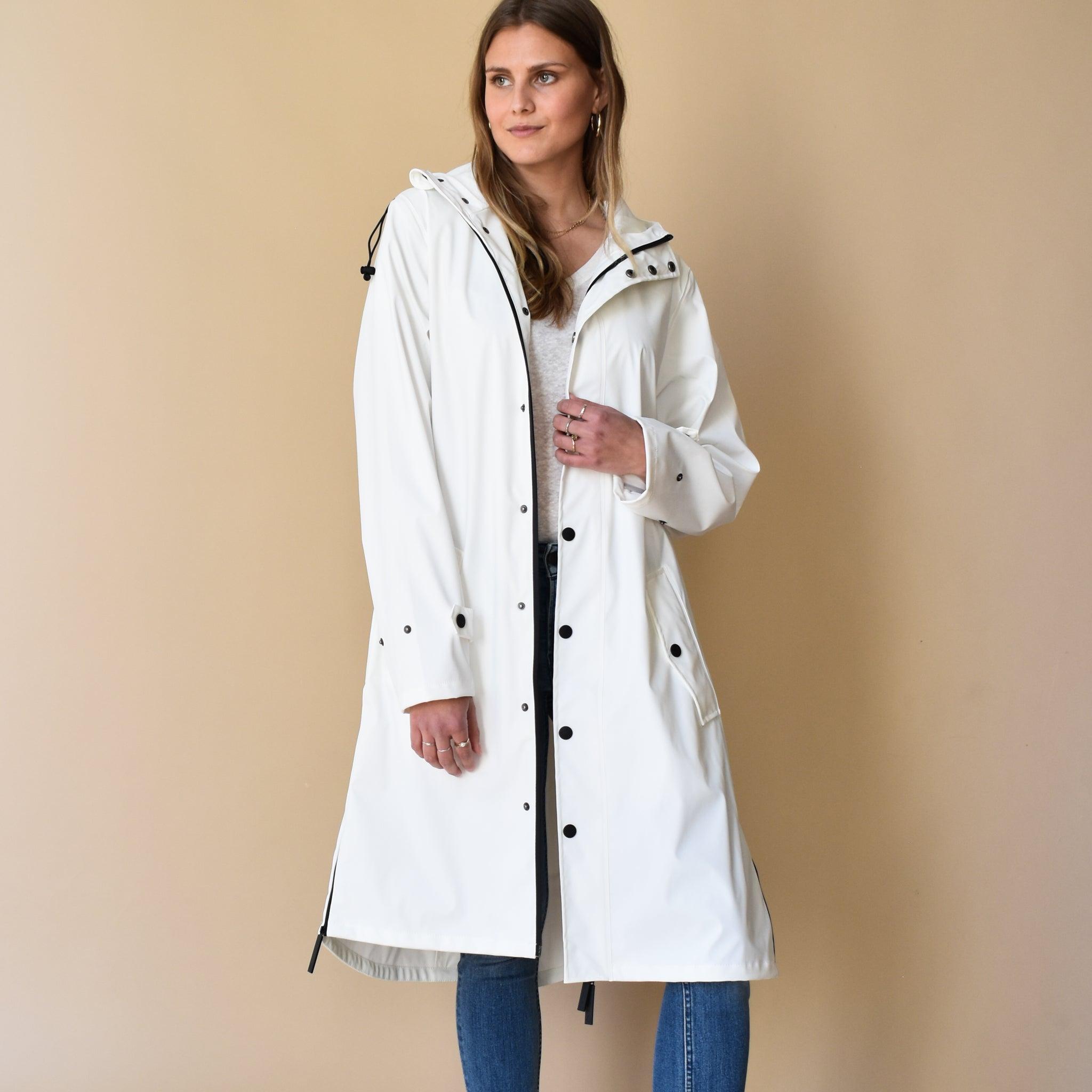 Original Raincoat Off White