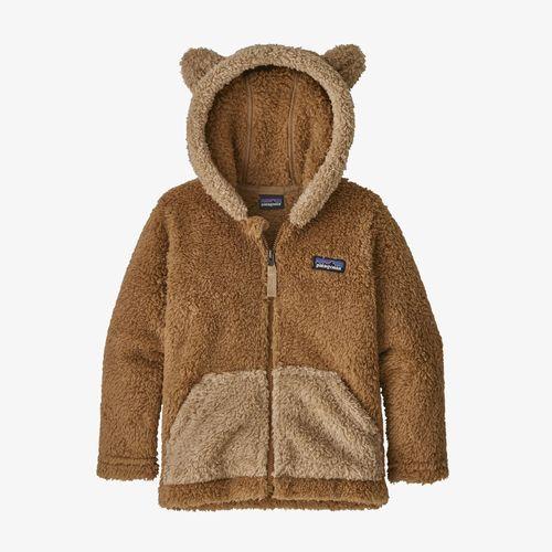 Baby Furry Friends Hoody Beech Brown
