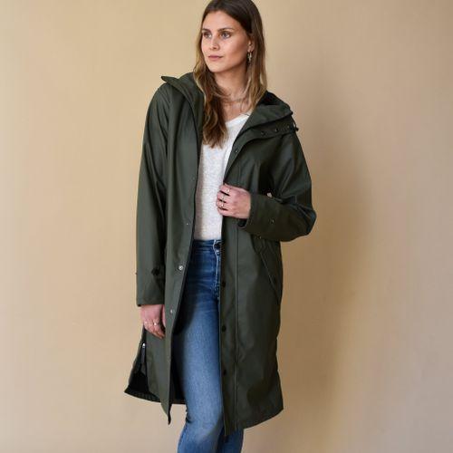 Original Raincoat Army Green
