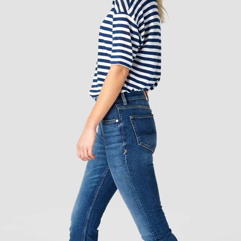 Kings of Indigo Yama High Rise Slim Fit Jeans
