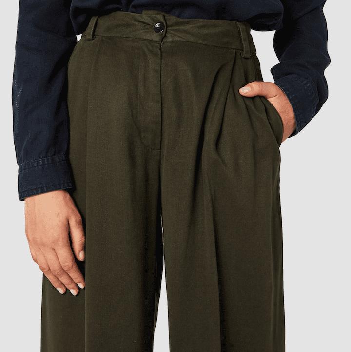 Rapunzel Trousers Olive Drab