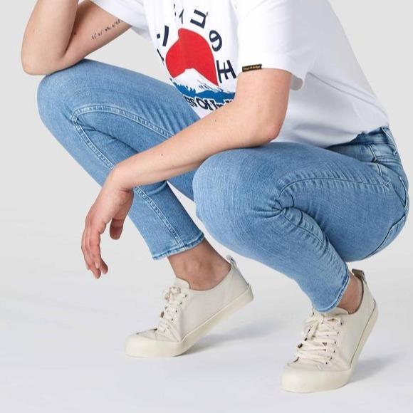Christina High Waisted Skinny Jeans