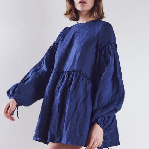 Romy Dress Blueberry
