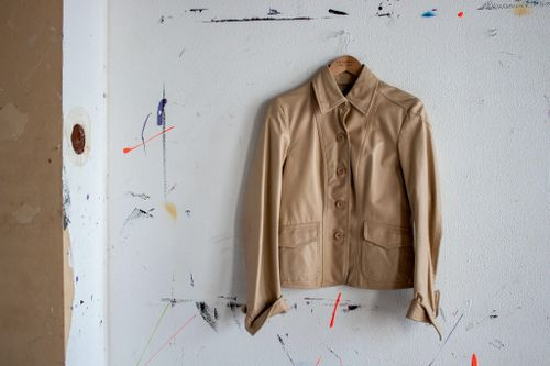 THE CUFF LEATHER JACKET