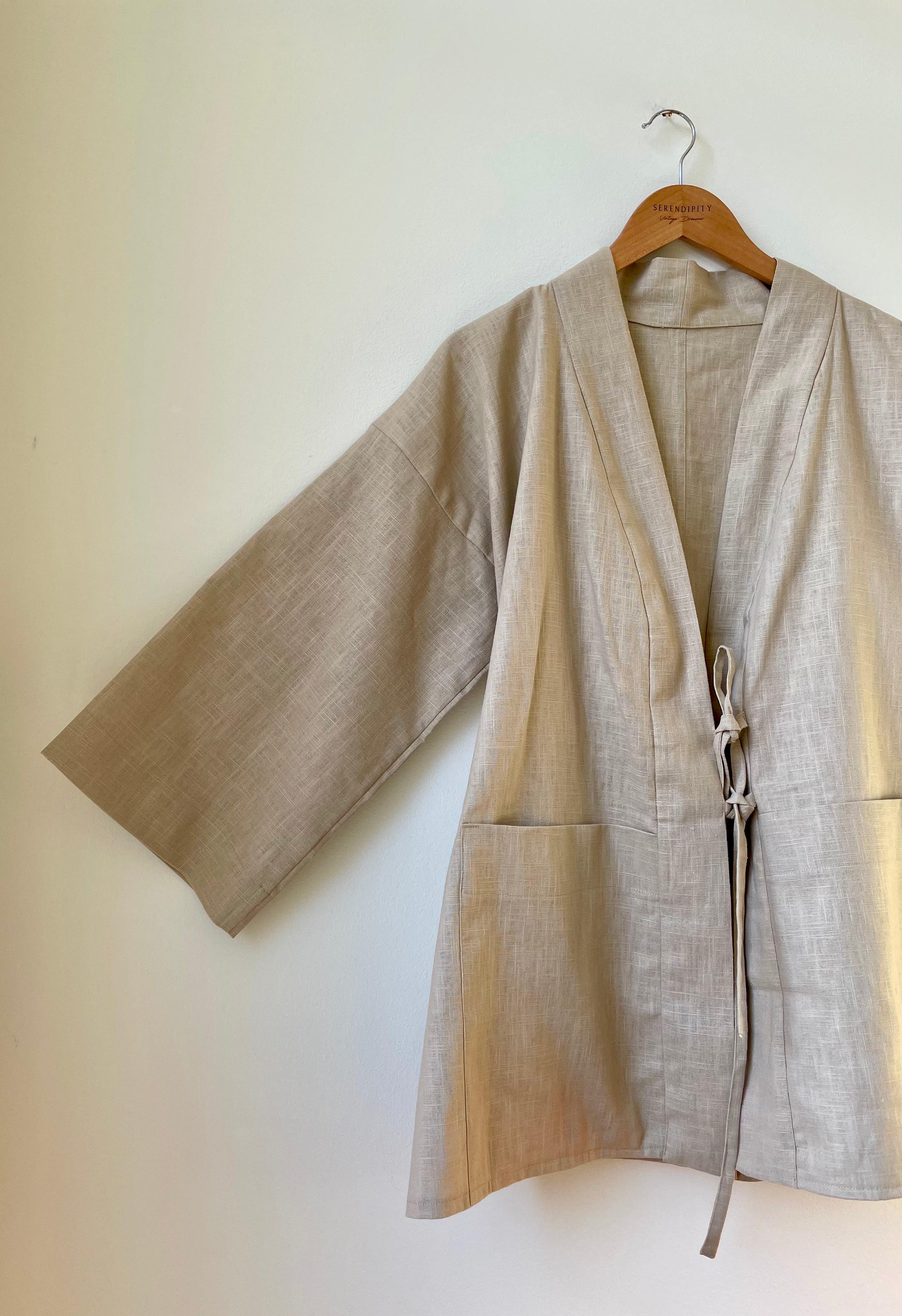 SIMPLE   Knot Kimono