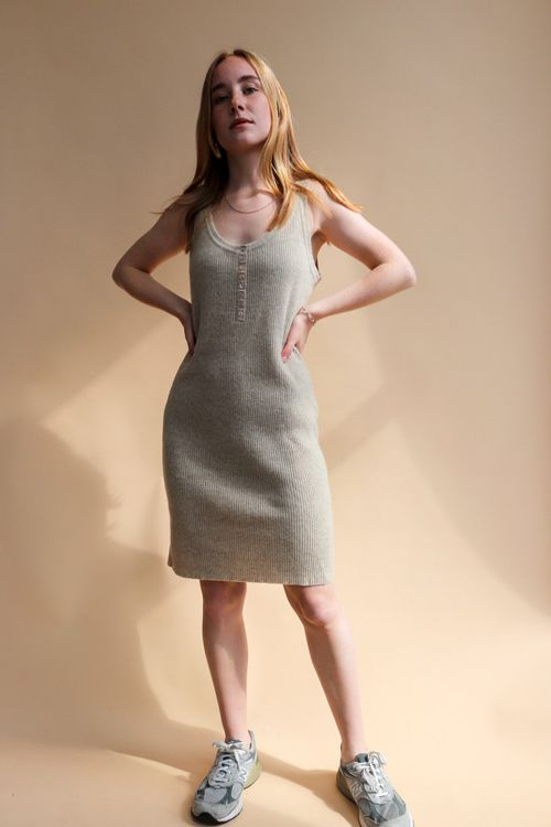 THE KNITTED DRESS