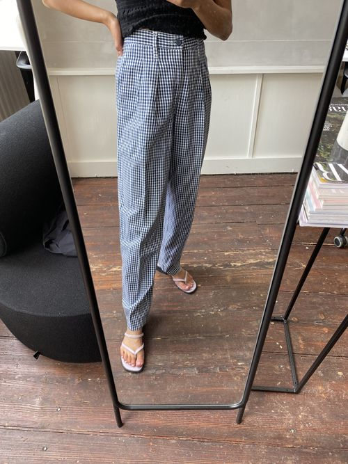 THE GINGHAM PANT