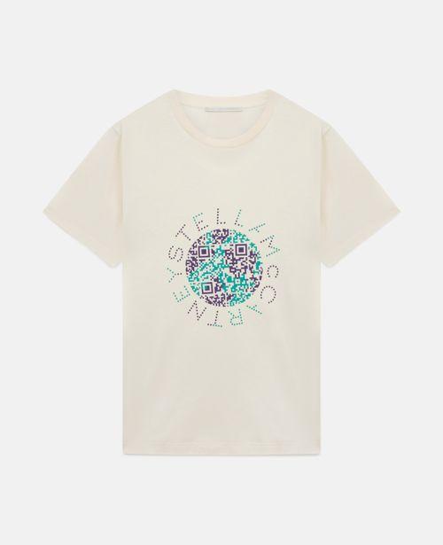 Stella McCartney - Earth Print Cotton T-Shirt